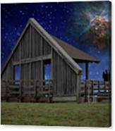 Cosmic Observation Deck Canvas Print