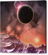 Cosmic Range Canvas Print