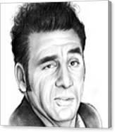 Cosmo Kramer Canvas Print