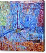 Cosmodrome Canvas Print