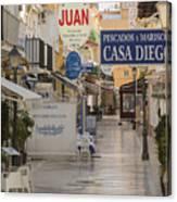 Costa Del Sol   Spain Canvas Print