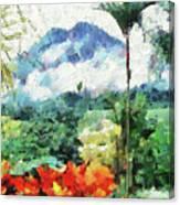 Costa Rica Paradise Canvas Print