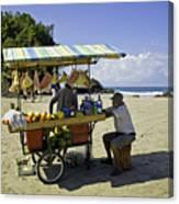 Costa Rica Vendor Canvas Print