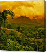 Costa Rica Volcano Canvas Print
