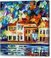 Costal Glimpse Canvas Print