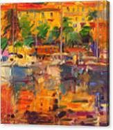 Cote D'azur Reflections Canvas Print