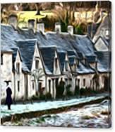 Cotswold Scene Canvas Print