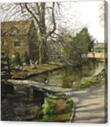 Cotswolds Scene. Canvas Print