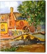Cotswolds Town Study Canvas Print