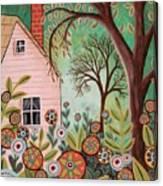 Cottage Garden 1 Canvas Print