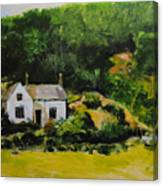 Cottage In Wales Canvas Print