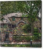 Fairy Cottage Canvas Print