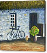 Cottage Life Canvas Print