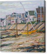 Cottages Along Moody Beach Canvas Print