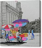 Cotton Candy At The Cne Canvas Print