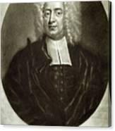 Cotton Mather 1663-1728 Canvas Print