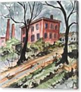 Cotton Mill Canvas Print