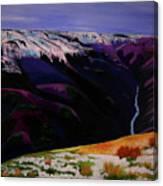 Cottonwood Idaho Canvas Print