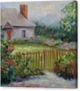 Cottswold Cottage Canvas Print