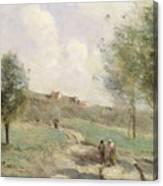 Coubron Ascending Path Canvas Print