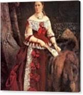 Countess Vera Zubova Konstantin Makovsky Canvas Print