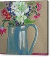 Country Bouquet Canvas Print