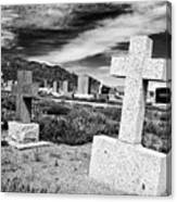 Country Cemetery Canvas Print