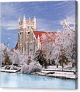 Country Club Christian Church Canvas Print
