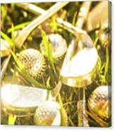 Country Golf Canvas Print