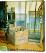Country Kitchen Sunshine II Canvas Print