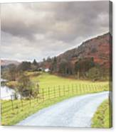 Country Lane In The Lakes Canvas Print