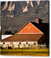 Country Living Boulder County Canvas Print