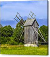 Country Mill Canvas Print