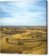 Country Mountain Roads Canvas Print