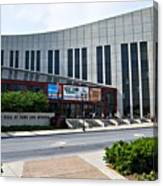 Country Music Hall Of Fame Nashville Canvas Print