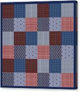 Country Quilt Canvas Print