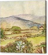 Country Scene Collection 3 Canvas Print