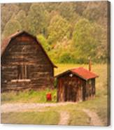 Country Shack Canvas Print