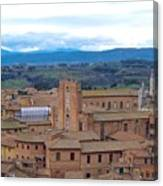 Countryside In Siena Canvas Print