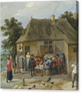 Countryside Inn Canvas Print