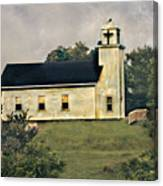 County Chruch Canvas Print