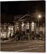 County Sessions House By Night Liverpool Canvas Print