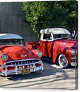 Coupala Chevys Canvas Print