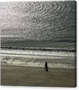 Couple Seascape Canvas Print