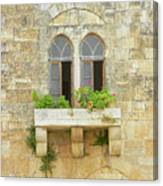 Coupled Windows Canvas Print
