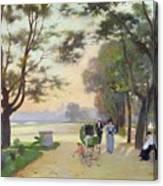 Cours La Reine Paris Canvas Print
