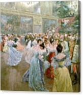 Court Ball At The Hofburg Canvas Print