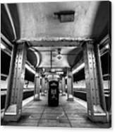 Court Street Subway Canvas Print
