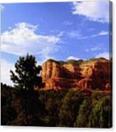 Courthous Butte Canvas Print
