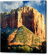 Courthouse Butte - Sedona Arizona Canvas Print